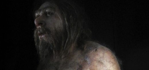 Neanderthal In The Museum Of Human Evolution, Burgos